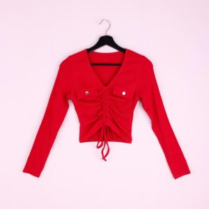 Lauren Top | Rood