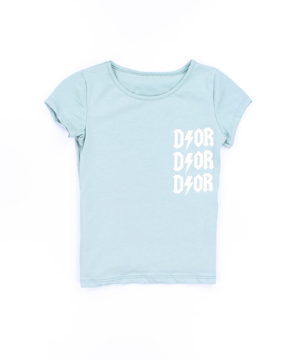 Ivy T-shirt - Turquoise